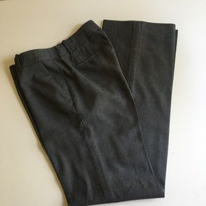 J Crew city fit super 120's wool pants. Grey.